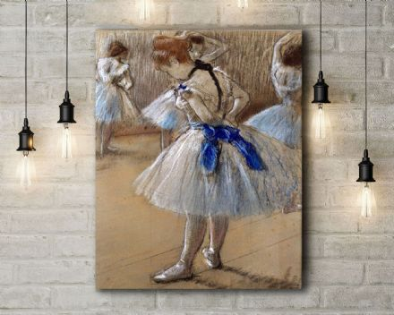 Edgar Degas: Dancer. Fine Art Canvas.